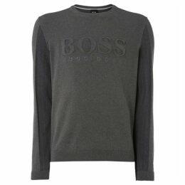 Boss Royce Embossed Logo Jumper