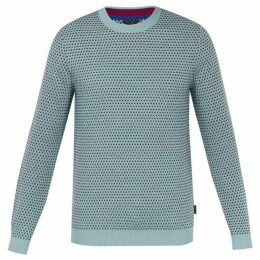 Ted Baker Malttea Textured Crew Neck Jumper