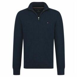 Tommy Hilfiger Zip Mock Sweater