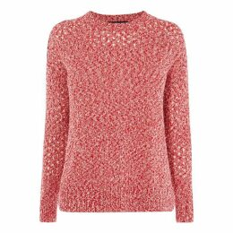 Karen Millen Perforated Knit Jumper