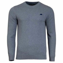 Raging Bull Big And Tall Plain Crew Neck Pull Over Jumper