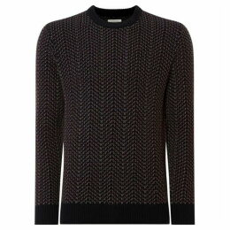 Criminal Murphy Patterned Jumper