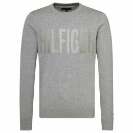 Tommy Hilfiger Embroidered Graphic Sweater