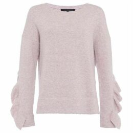 French Connection Emilde Knit Frilly Jumper