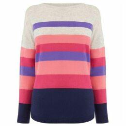 Oasis Bridgette Stripe Jumper