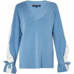 French Connection Caballo Lace Knit Jumper