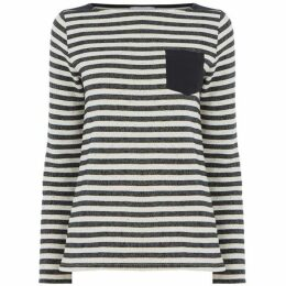 Warehouse Pocket Stripe Jumper