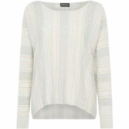 Repeat Cashmere Stripe jumper