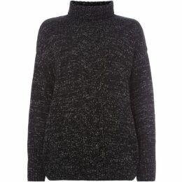 Label Lab LUREX CABLE ROLL NECK JUMPER