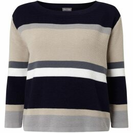Phase Eight Vedette Stripe Knitted Jumper