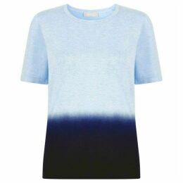 Havren Jamie Dip Dye Short Sleeve Jumper