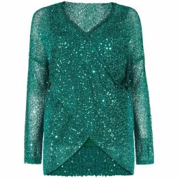 Damsel in a Dress Averie Sequin Knitted Jumper