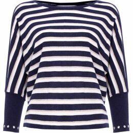 Damsel in a Dress Neeva Stripe Shimmer Knitted Jumper
