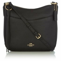 Coach Chaise polished pebble leather crossbody bag