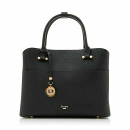 Dune Daring Logo Charm Shopper Bag
