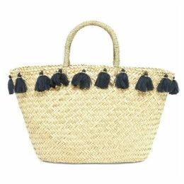 Phase Eight Brogan Tassle Edge Straw Bag