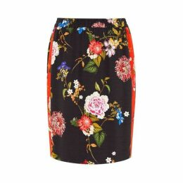 Hallhuber High Waisted Skirt With Elastic Waist