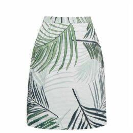 Great Plains Palm Camo A Line Skirt