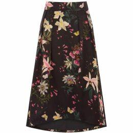 Oasis Secret Garden Full Midi Skirt