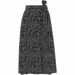 Whistles Sahara Print Avie Wrap Skirt