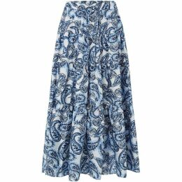 Lauren by Ralph Lauren Oretha tiered skirt