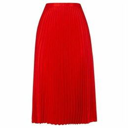 Whistles Satin Pleated Skirt