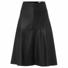 Linea Henny Faux Leather Full Skirt