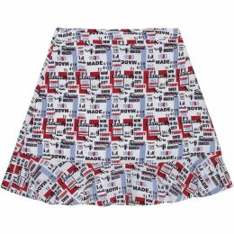 Tommy Jeans Racing Print Mini Skirt