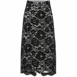 DKNY Floral lace pencil skirt