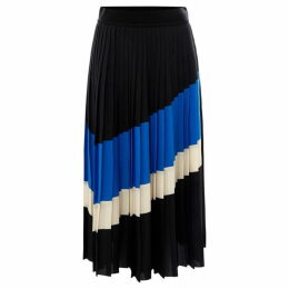 Sportmax Code Zambra stripe pleated skirt