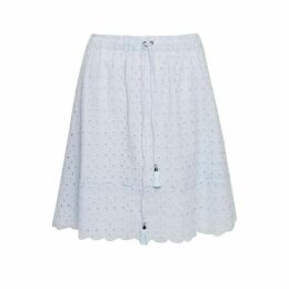 Great Plains Summer Broiderie Anglaise Skirt