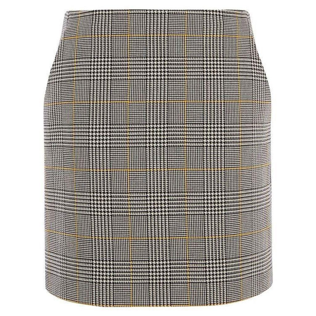 Karen Millen Check Tailored Skirt