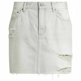 All Saints Betty Denim Skirt