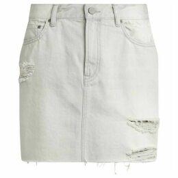 All Saints Betty Denim Skirt