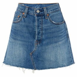 Levis Deconstructed Skirt