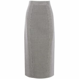 Karen Millen Gingham Pencil Skirt