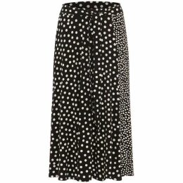 Phase Eight Sallie Mixed Spot Skirt