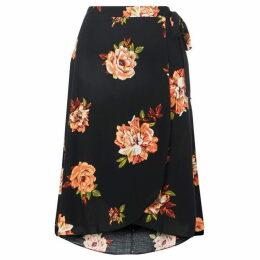 Dorothy Perkins Curve Wrap Tie Midi Skirt