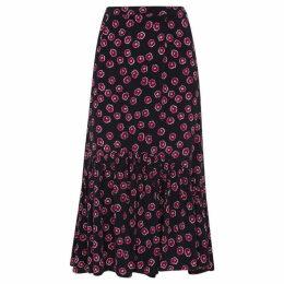 Whistles Lenno Print Aida Skirt