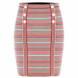 Damsel in a Dress Lyn Stripe Knitted Skirt