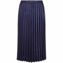 Yumi Satin Pleated Skirt