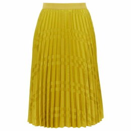 Ted Baker Kkoreli Pleated Satin Midi Skirt
