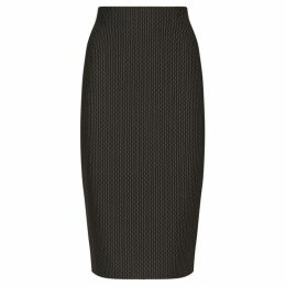 James Lakeland Print Split Pencil Skirt