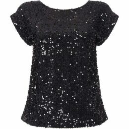 Yumi Embellished Sequin Skirt