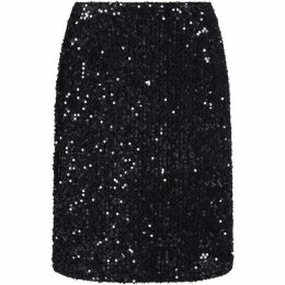 Yumi Sequined Embellished Skirt