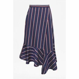 French Connection Ceola Cotton Wrapover Skirt