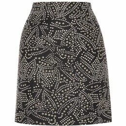 Karen Millen Stud Embellished Skirt