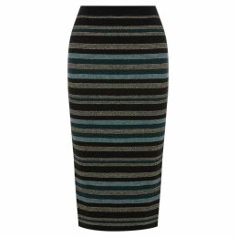 Oasis Cassie Stripe Skirt