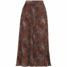Whistles Abstract Animal Longline Skirt