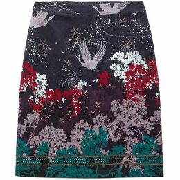 White Stuff Cosmic Velvet Skirt